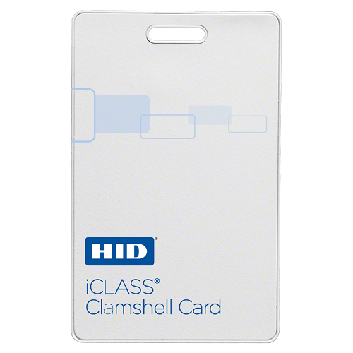 HID (2080PGSMV) iCLASS Clamshell 13.56 MHz Contactless Smart Card