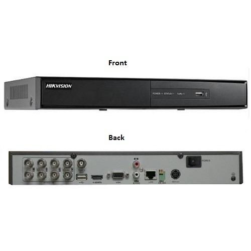 Hikvision, DS-7208HQHI-F1/N/A, 8 Channel Turbo HD DVR (Alarm