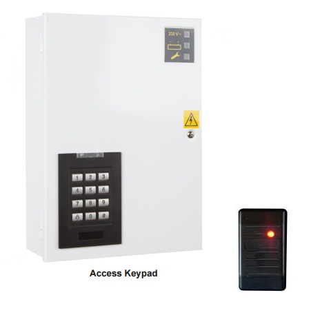 RGL PX2000+, Complete Access Control Solution incl. Keypad w/Prox & Reader Option