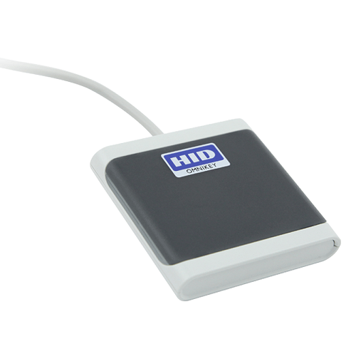 HID (R50250001-GR) OMNIKEY 5025 CL Contactless USB Smart Card Reader