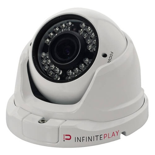 InfinitePlay (TH242.212) 2 MPX AHD D/N Dome Camera (2.8-12 mm, 36 LEDS)