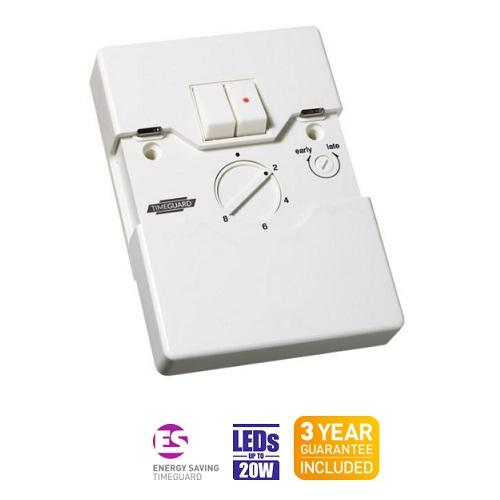 Timeguard zv215 programmable security light switch twin gang timeguard zv215 programmable security light switch twin gang aloadofball Gallery