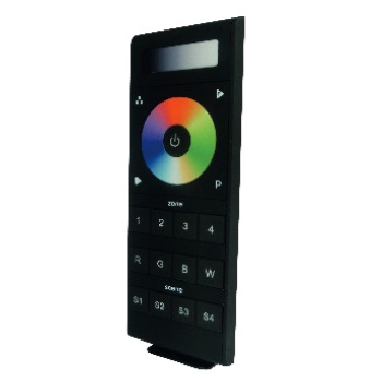 Save Light, 16-ZONE-DIM-RGBW, RF Single/RGB/W 4 Zone Remote Control