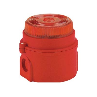 TCA-0026(17-970329), Syrex IS Beacon (ATEX) Red,6-28V DC