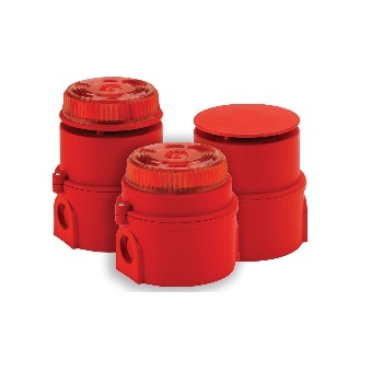 TCA-0029(17-970330), Syrex IS Sounder/Beacon (ATEX) Red,6-28V DC
