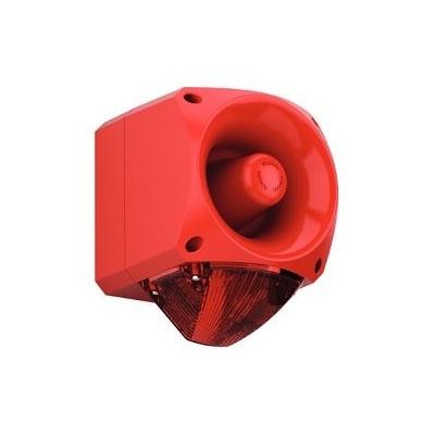 Klaxon, Nexus 110 Sounder/Beacon REd Lens - LED (18-980622