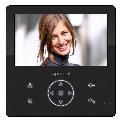 APERTA (APMONBG) Colour Video Door Entry Monitor with Record Fac ...