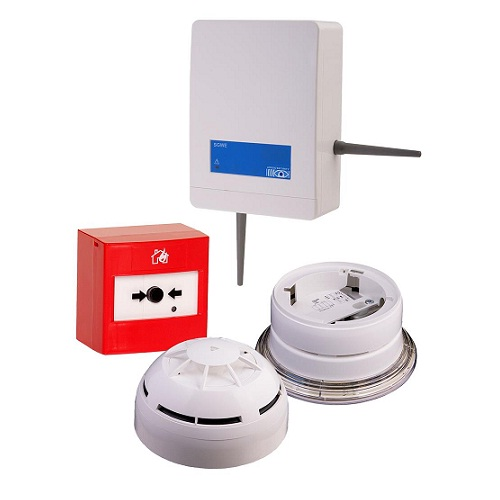 Argus Wireless Fire Alarm Ranges