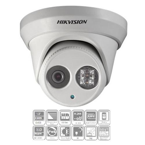 Hikvision, DS-2CD2332-I-4MM, 3MP EXIR Turret Network Camera (4mm