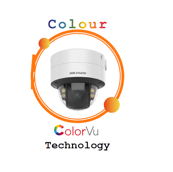 DS-2CD2747G2-LZS, Pro/2 Dome Series with ColorVu 4MP, 3.6-9 mm Varifocal lens, 24/7 Colorful imaging  Networked Camera