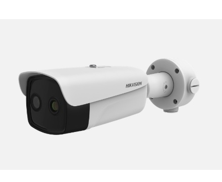DS-2TD2636B-13/P, Temp Screening Thermographic Bullet Camera, 13mm Lens, Bi-spectrum