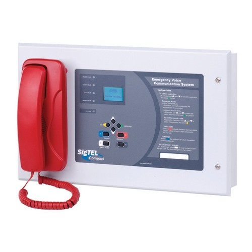 SigTEL (ECU-128) 128 Line Desk Control Unit with Handset and Dis ...