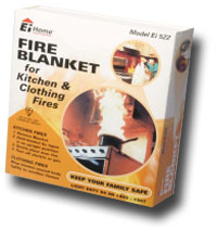 AICO, Ei522, Fire Blanket for Kitchen and Clothing Fires