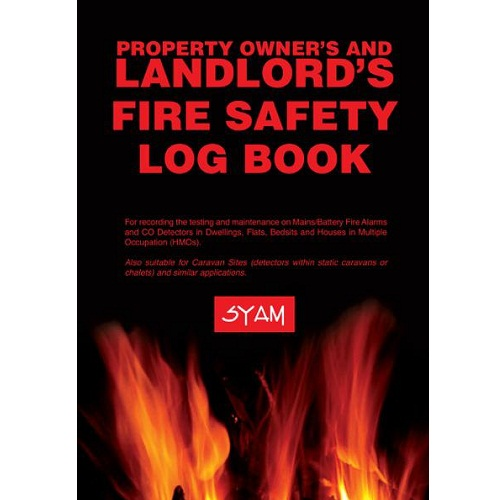 SYAM (FAB/LLB) Landlord's Fire Safety Log Book, A5 Format