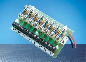 Elmdene, FOM-8-DIN, 8 Way Fused Output Module (DIN Rail Version)