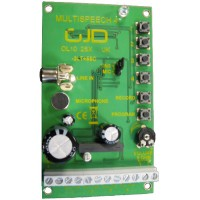 GJD, GJD090, Multispeech 4 Channel Speech Enuciator Module