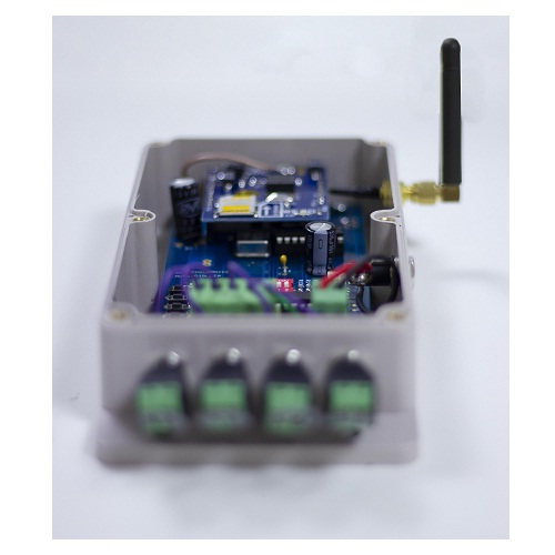 Daitem, GMT-3GAD, Battery Powered Auto Voice Dialler with 4 NC Inputs