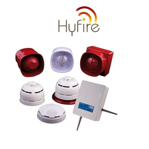 HAES Wireless Fire Alarm Ranges