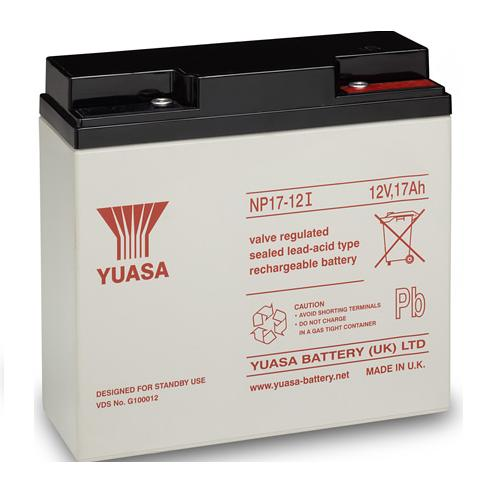 Yuasa 12Volt 17Ah Rechargeable Sealed Lead Acid Battery