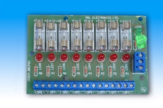 RGL, RL08, 8 Individually Fused Outputs for use with RGL power s ...