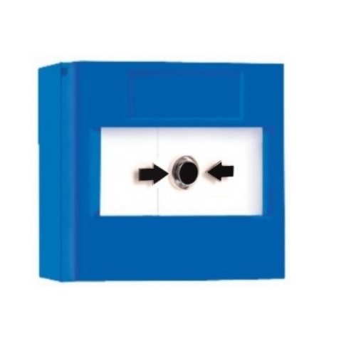 Vimpex, SY-BS01, Hydrosense Manual Alarm Call Point (Blue, Surfa ...