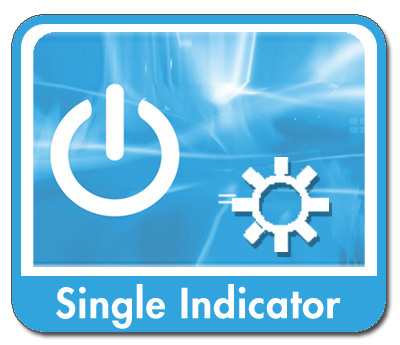 12 Volt, 1-5 Amp Single Indicators