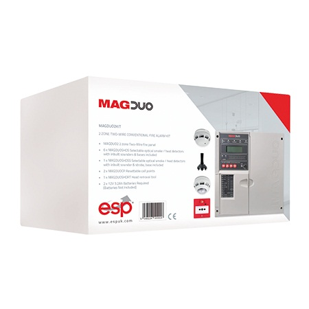 MAGDUO - 2 Wire Fire Alarm Ranges