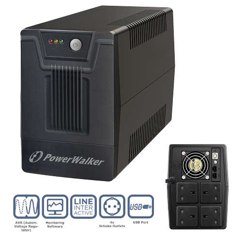 PowerWalker VI 2000 SC UK UPS (1200W)