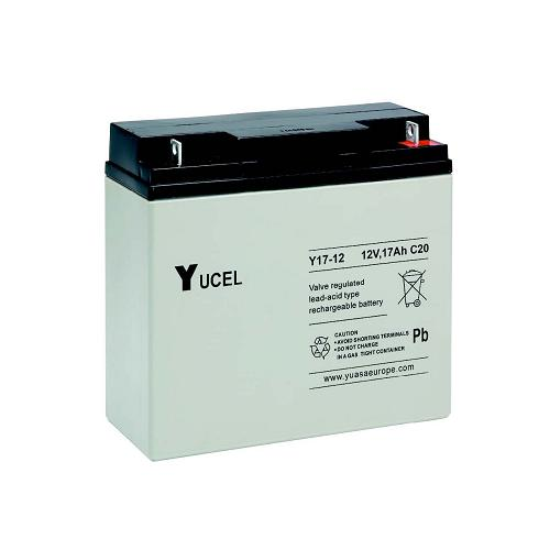 YUCEL Y17, 12V Rechargeable Lead Acid Battery