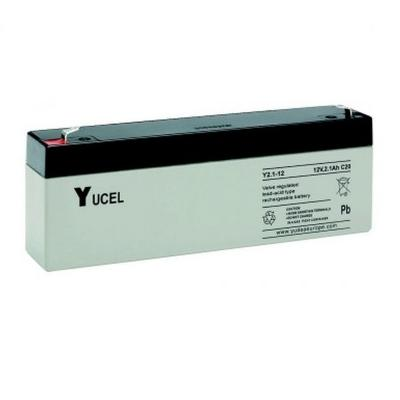 YUCEL Y2.1, 12V Rechargeable Lead Acid Battery