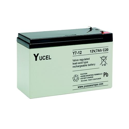 YUCEL Y7, 12V Rechargeable Lead Acid Battery