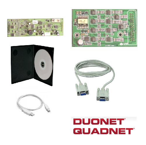 DUONET and QUADNET Panel Accessories