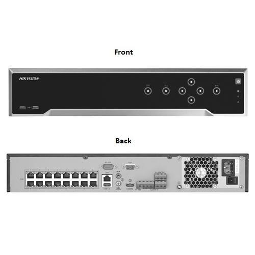 Hikvision, iDS-7716NXI-I4/16P/8S, 16 Channel DeepinMind NVR 16